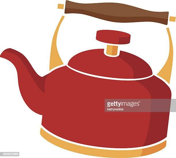 tea kettle in color