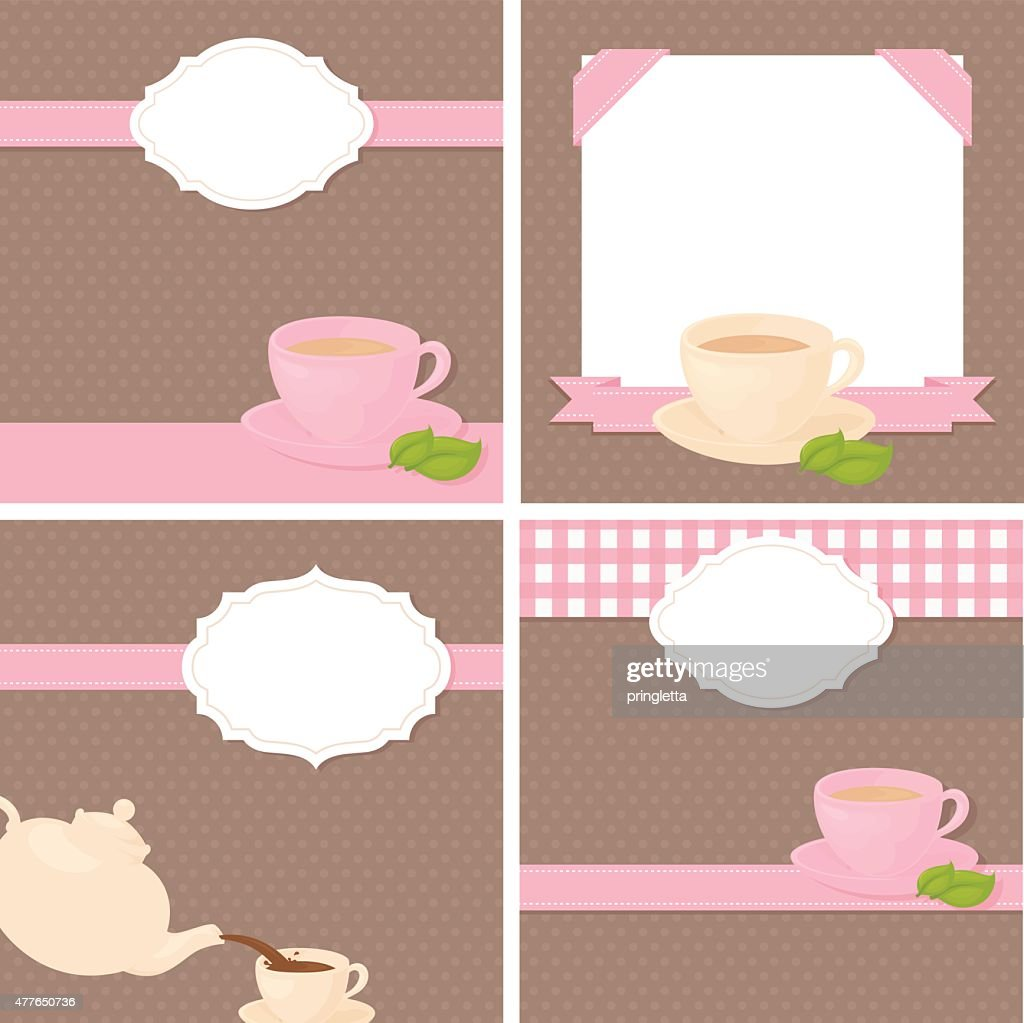 Free Tea Party Invitation Clipart And Vector Graphics Clipart Me