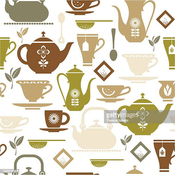 Tea Repeat Pattern