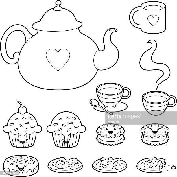Chocolate Chip Cookie Stock Illustrations and Cartoons