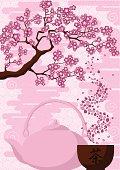 Tea under the Sakura