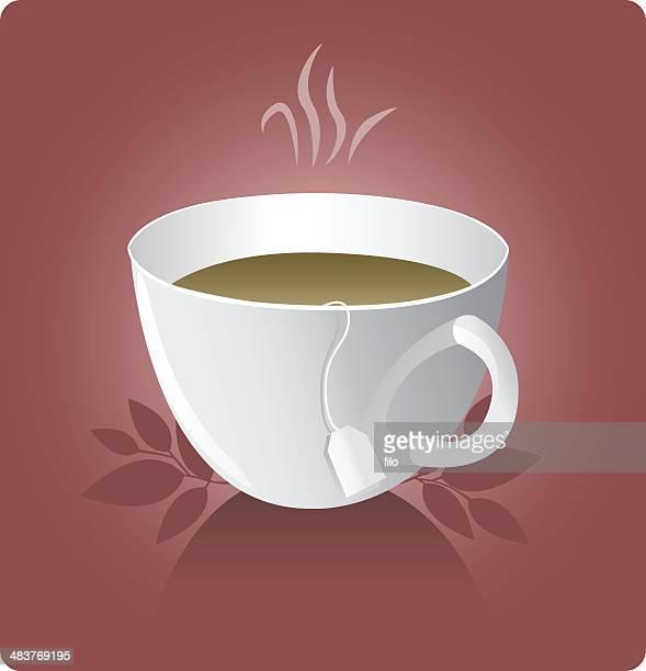 tea [vector] - steeping stock illustrations, clip art, cartoons, & icons