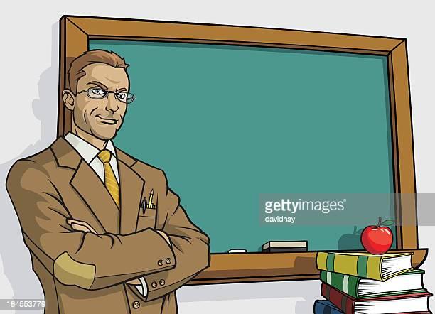 Teacher & Blackboard
