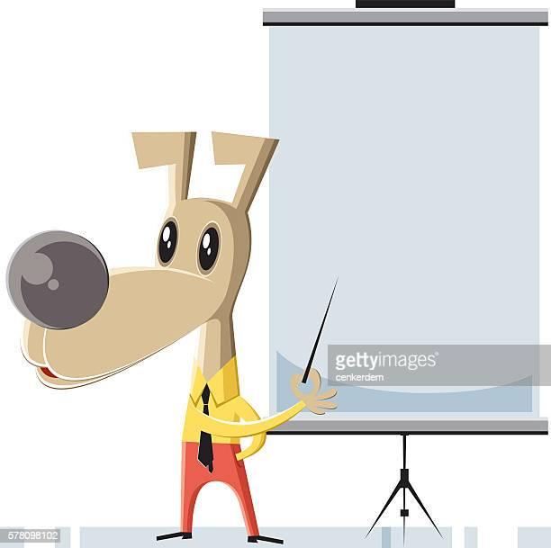 illustrations, cliparts, dessins animés et icônes de teacher dog - chien humour