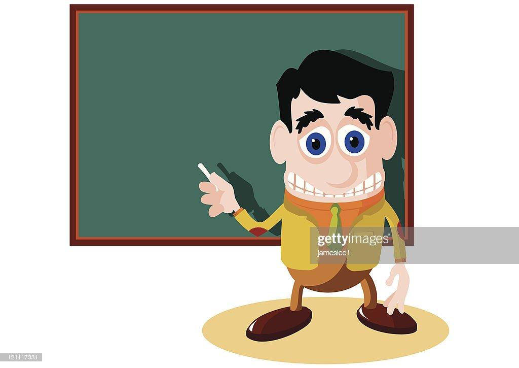 Teacher : stock illustration