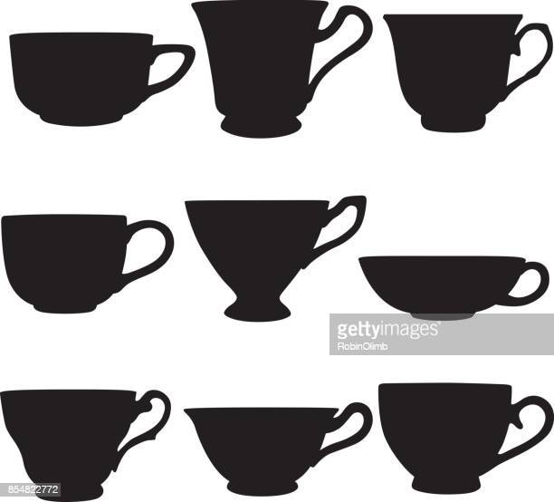 Teacup Silhouettes