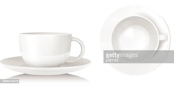 Teacup - Vector