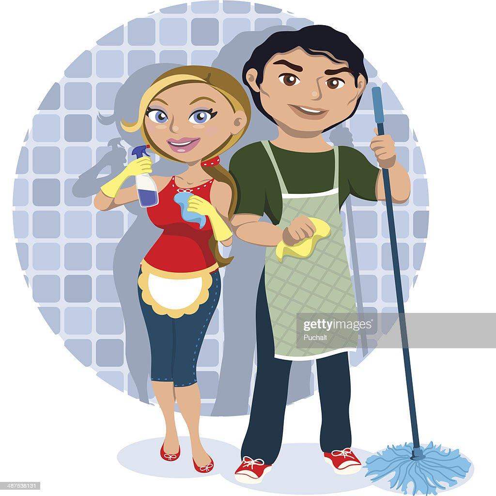 Limpieza en equipo