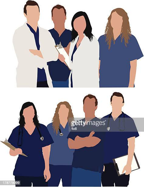 Team of medical professionals