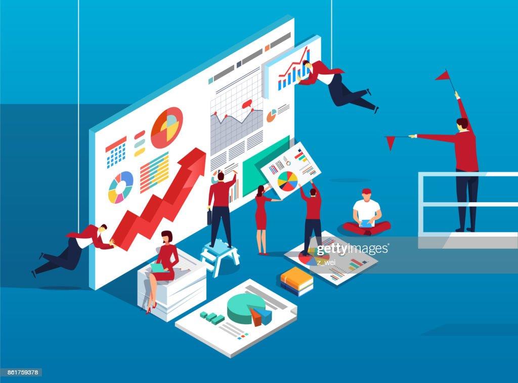 Team work and data analysis