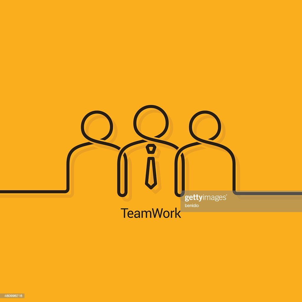 teamwork business concept design background