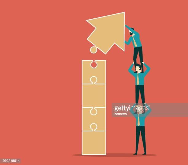 Teamwork - Business people