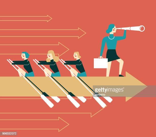Teamwork - Businesswoman