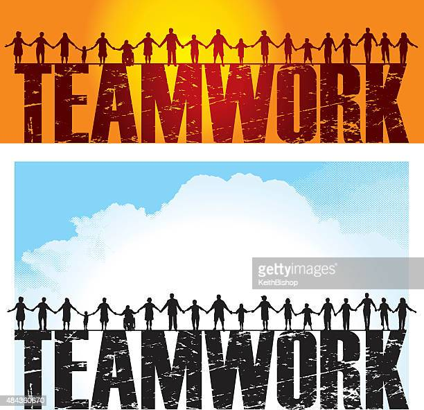 Teamwork - Holding Hands, Success