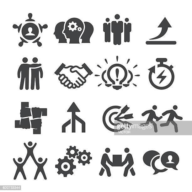 Teamwork Icon Set - Acme Series