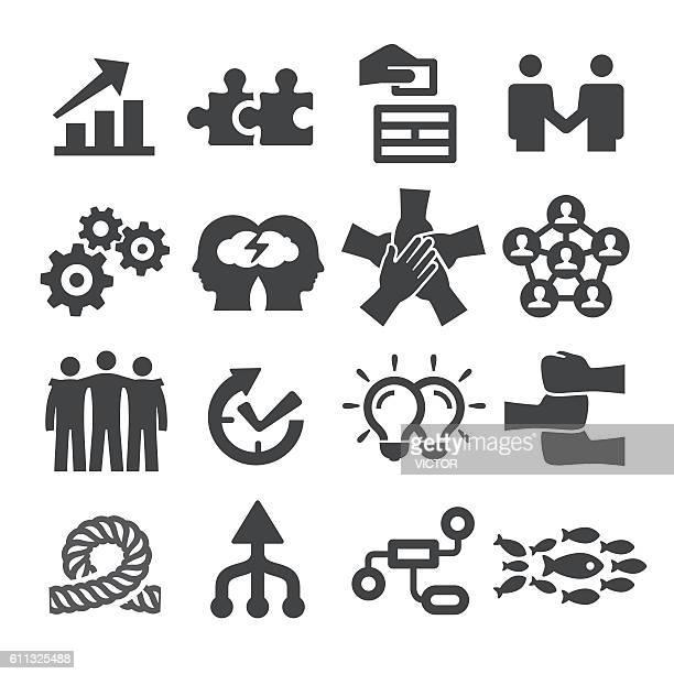Teamwork Icons Set - Acme Series