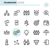 Teamwork - Pixel Perfect icons
