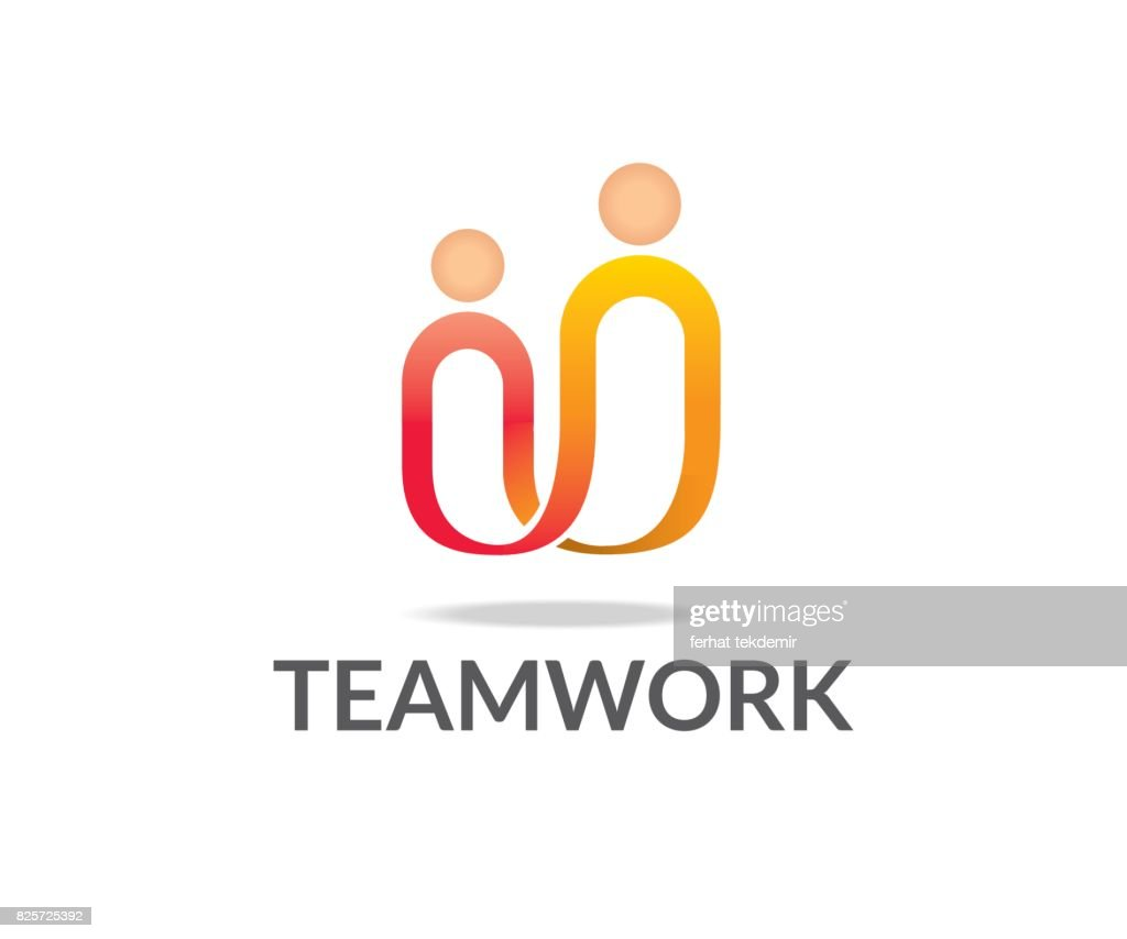 Teamwork vector icon