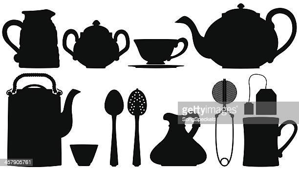 Teapots and tea accessories