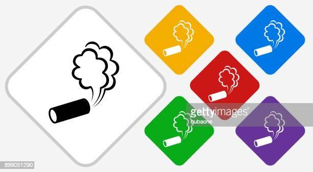 ilustraciones, imágenes clip art, dibujos animados e iconos de stock de gas lacrimógeno color diamante vector icono - tear gas