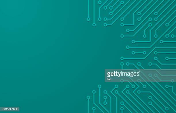 Tech Circuit Board Background