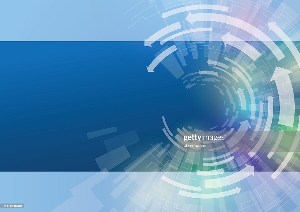 technological abstract image, concentration and rotation,