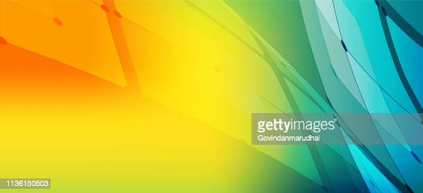 technology abstract background - yellow stock illustrations