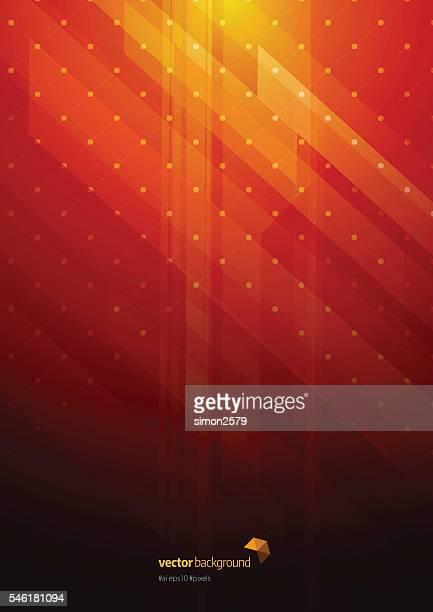 technologie abstrakt hintergrund - roter hintergrund stock-grafiken, -clipart, -cartoons und -symbole