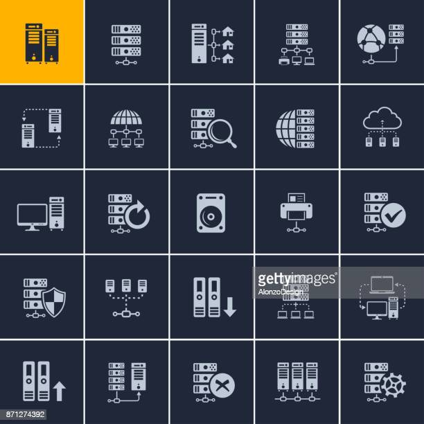 Technology and computing icons