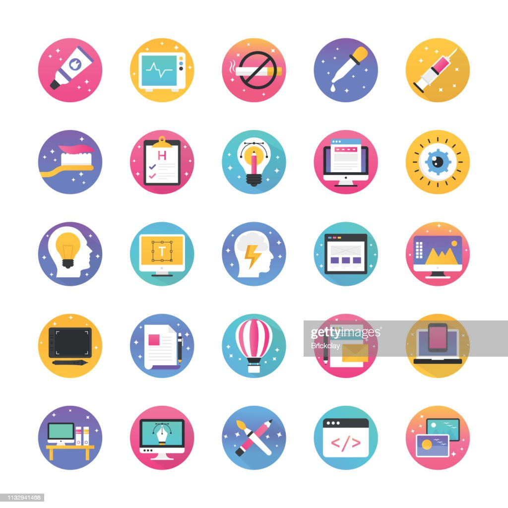 Technology And Graphics Icons