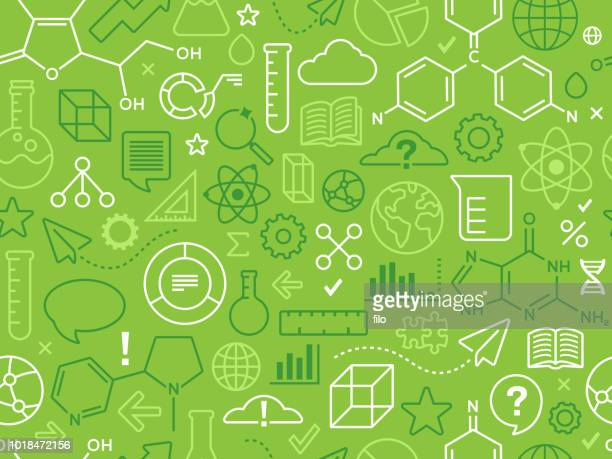 technology and science innovation background - science stock illustrations