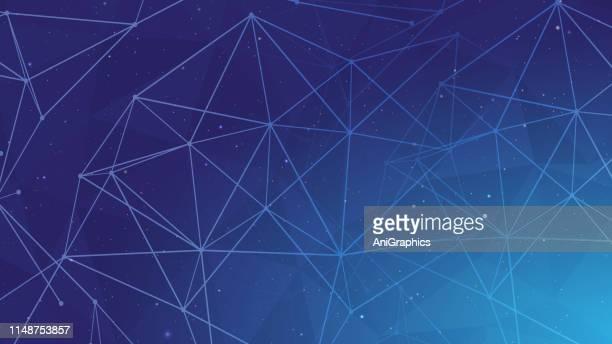 technology background - big data stock illustrations