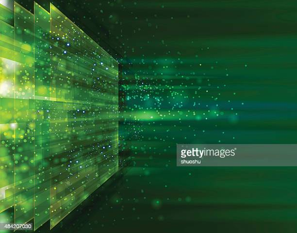 technology background - rectangle stock illustrations