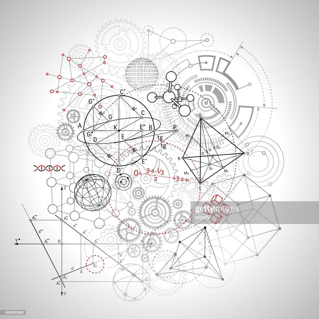 Technology Background : stock illustration