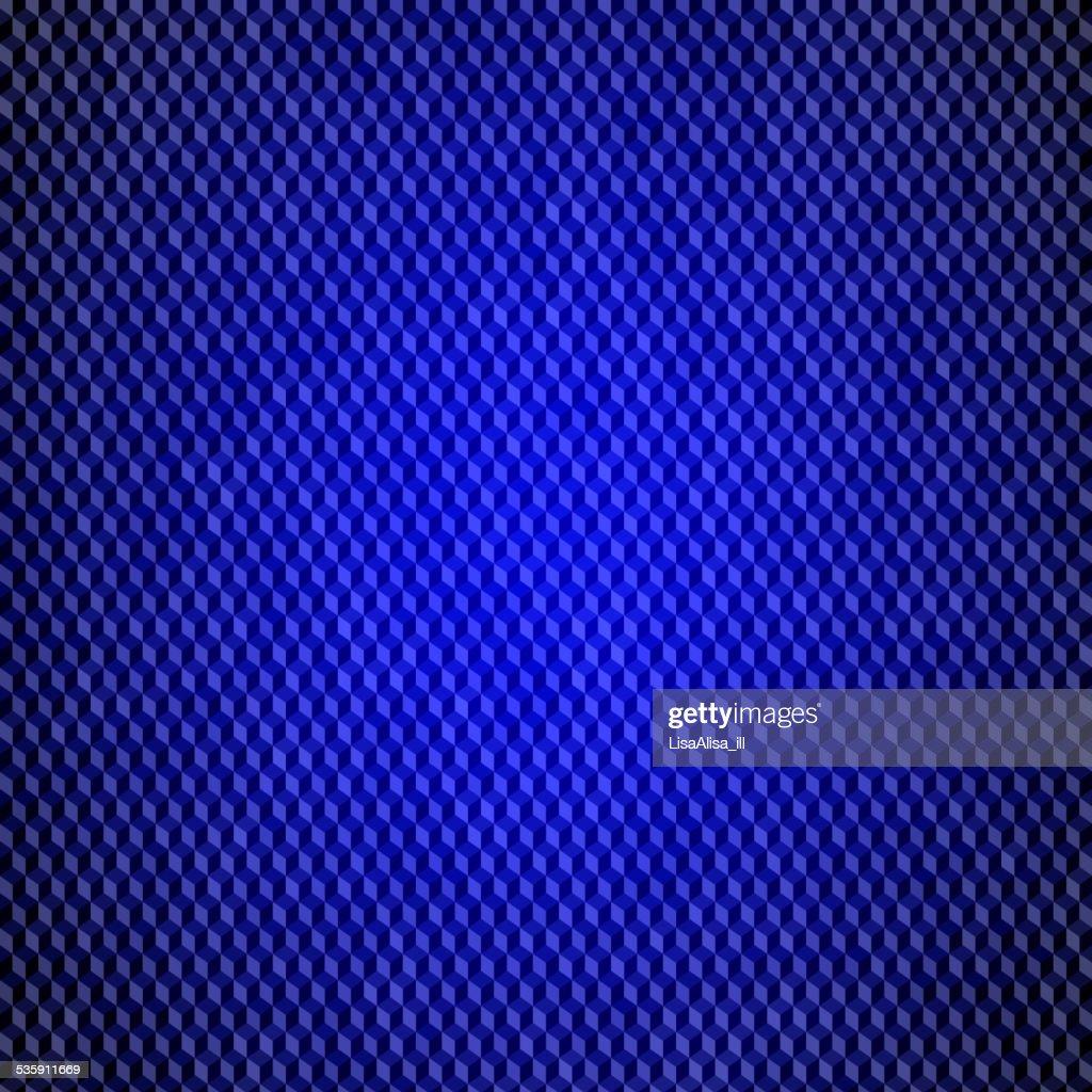 Fundo de tecnologia com cubos 3d : Arte vetorial