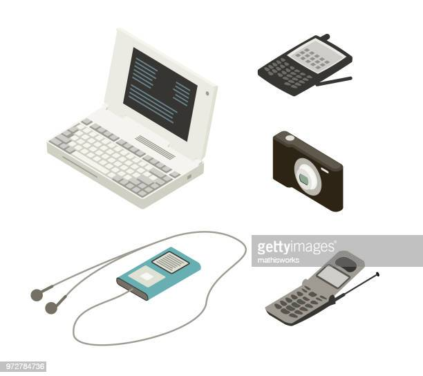 Technology devices of the 1990s-2000s