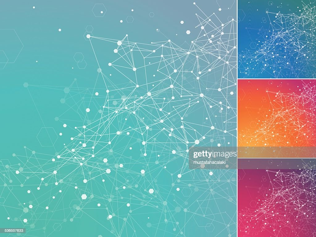 Technology digital network background : stock illustration