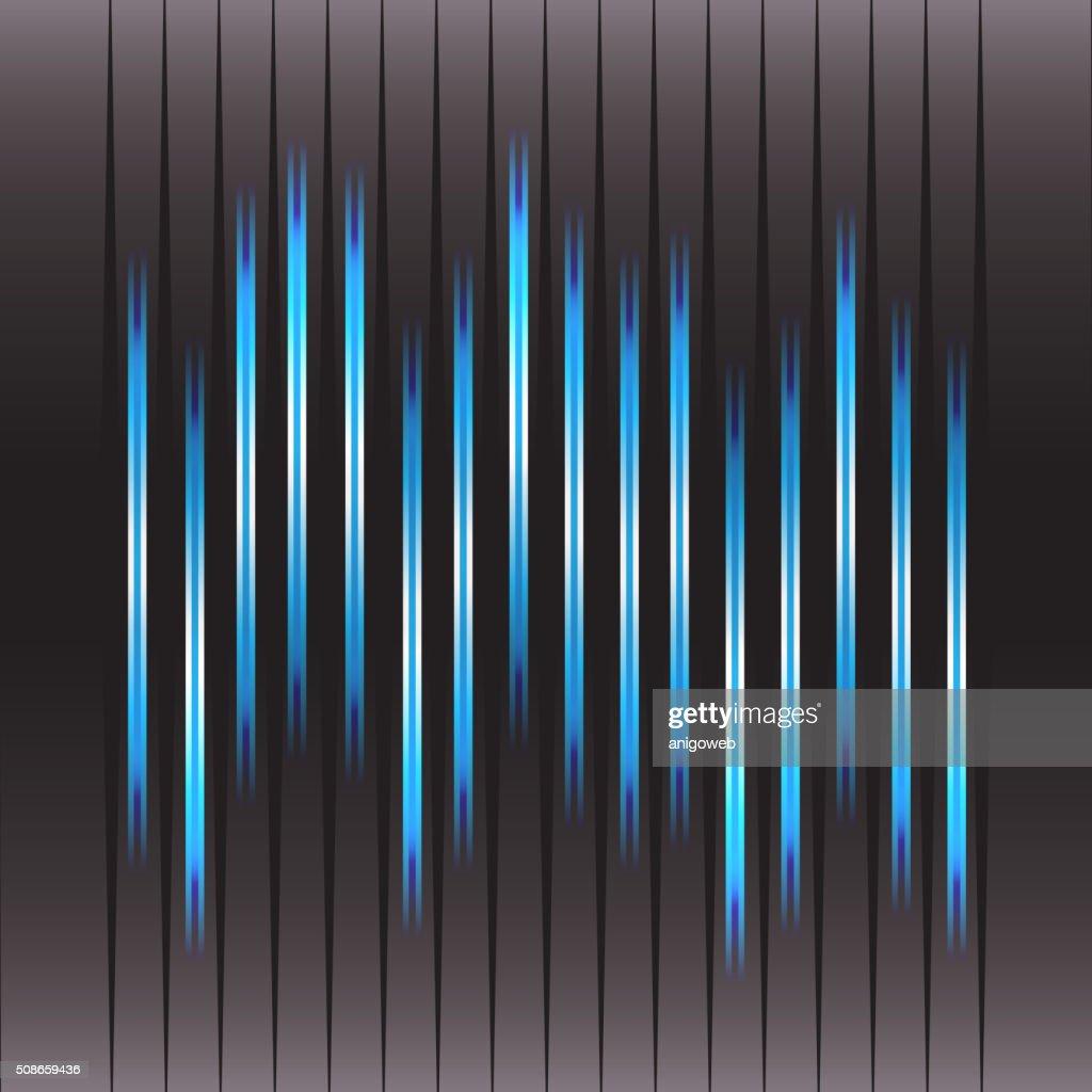 Technology equalizer : Vector Art