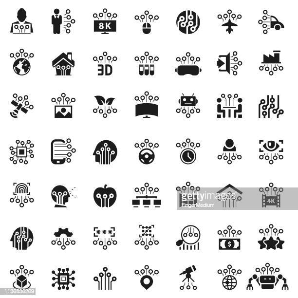 Technologie-Icon Set