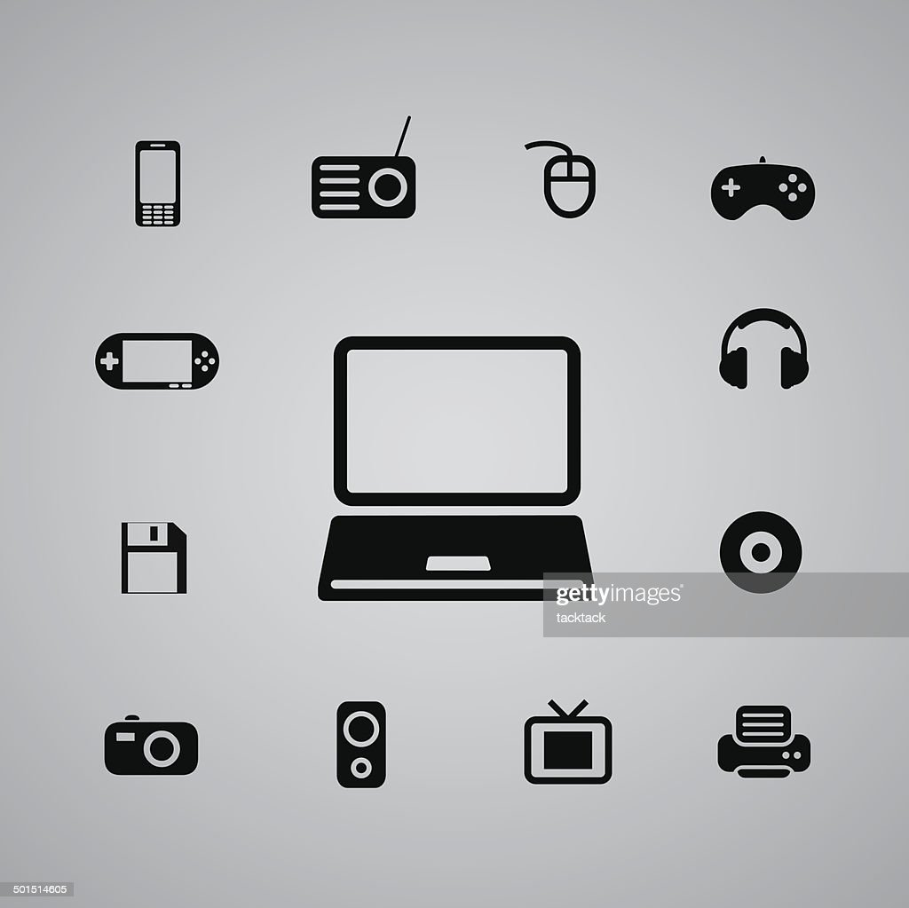 technology icon web
