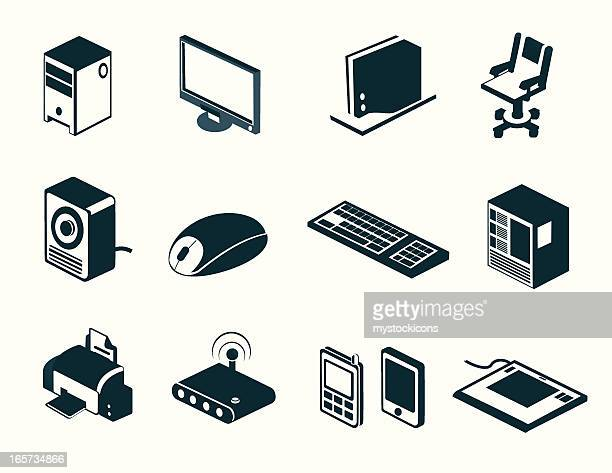 Technology Icons and Symbols
