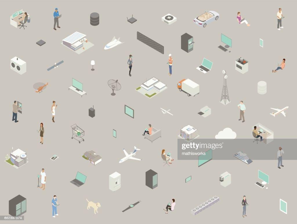 Technology Icons : Vector Art