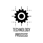technology process icon. Element of Web Development for mobile concept and web apps. Detailed technology process icon can be used for web and mobile. Premium icon