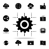 technology process icon. Web Development icons universal set for web and mobile