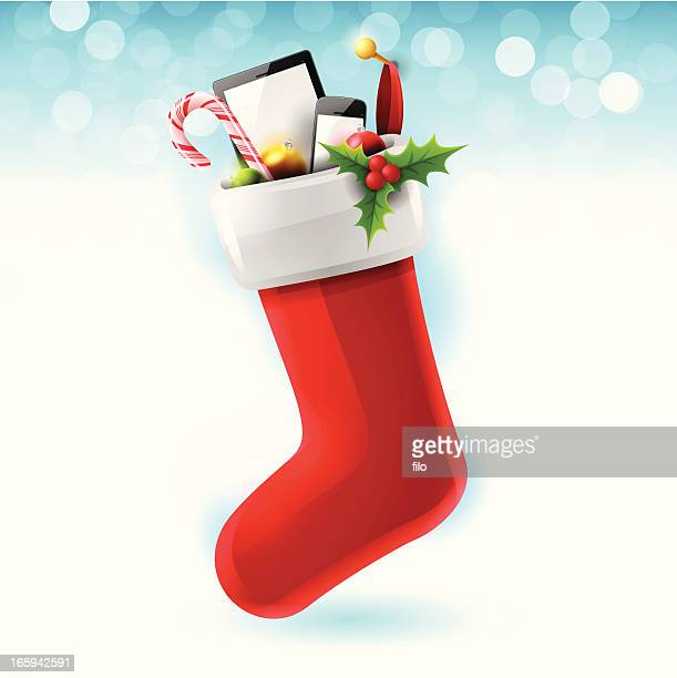 Christmas Stockings Cartoon.60 Top Christmas Stocking Stock Illustrations Clip Art