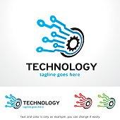 Technology Symbol Template Design Vector, Emblem, Design Concept, Creative Symbol, Icon