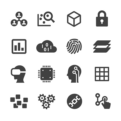 Technology Trend Icons - Acme Series - gettyimageskorea