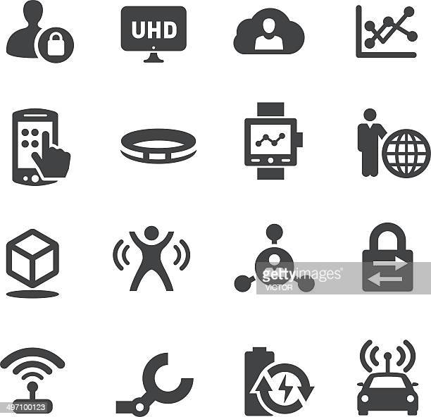 Technology Trends For Business Icons - Acme Series