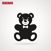 Teddy bear icon.