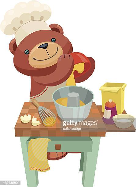 Teddy bear series: Pound pudding.